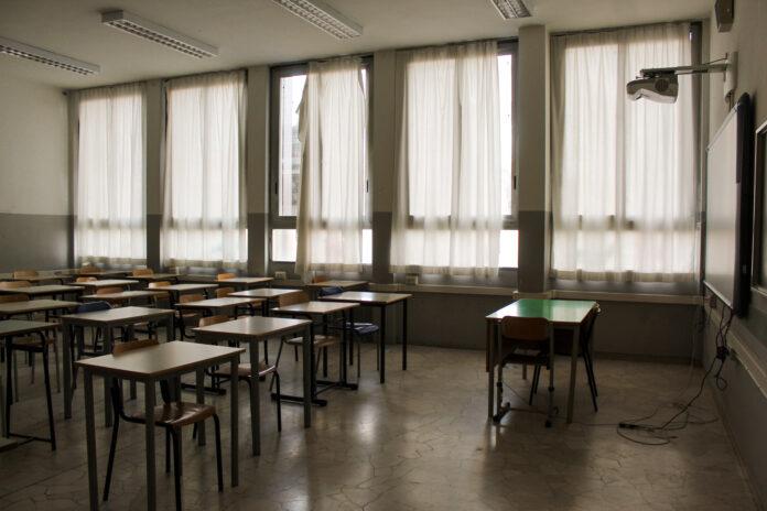 Aula scuola Luigi Casale